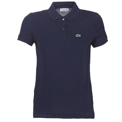 Clothing Women short-sleeved polo shirts Lacoste PF7839 Marine