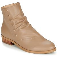 Shoes Women Mid boots André ELIPSE Camel
