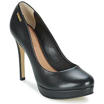 Shoes Women Heels Dumond VEGETAL PRETO Black