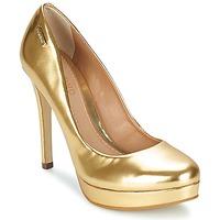 Shoes Women Heels Dumond MIRROR OURO Gold