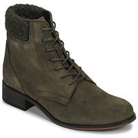 Shoes Women Mid boots André GODILLETTE Kaki