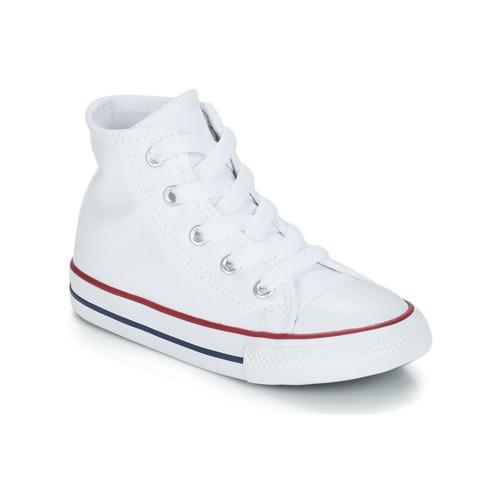 Shoes Children Hi top trainers Converse ALL STAR HI White