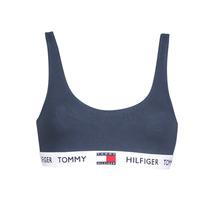 Underwear Women Sports bras Tommy Hilfiger ORGANIC COTTON Marine