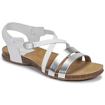 Shoes Women Sandals Kickers ANATOMIUM White / Silver
