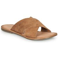 Shoes Women Mules Kickers DIAZ-2 Camel