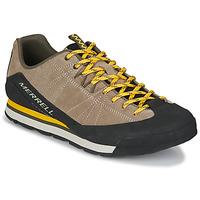 Shoes Men Low top trainers Merrell CATALYST SUEDE Beige / Black