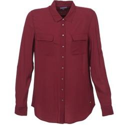 Clothing Women Shirts Tommy Hilfiger FEMI BORDEAUX
