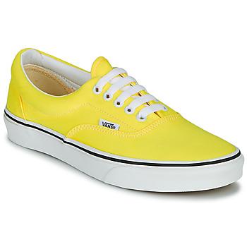 Shoes Women Low top trainers Vans ERA NEON Yellow