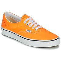 Shoes Women Low top trainers Vans ERA NEON Orange