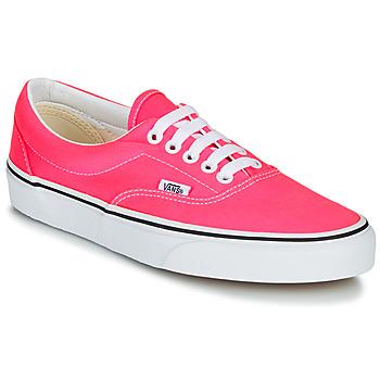 Shoes Women Low top trainers Vans ERA NEON Pink