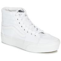 Shoes Women Hi top trainers Vans SK8-HI PLATFORM 2.0 White