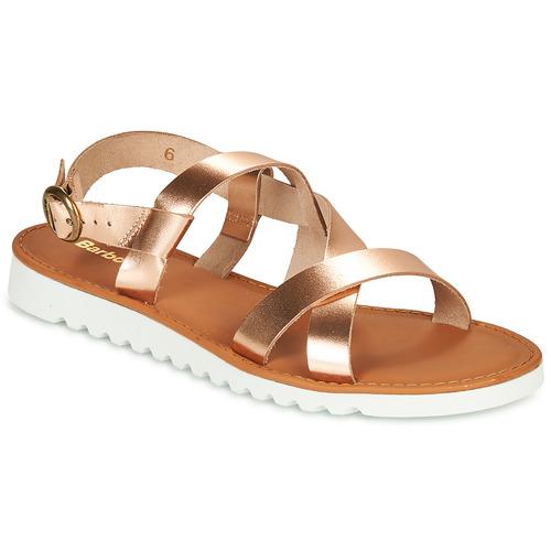 Shoes Women Sandals Barbour SANDSIDE Gold