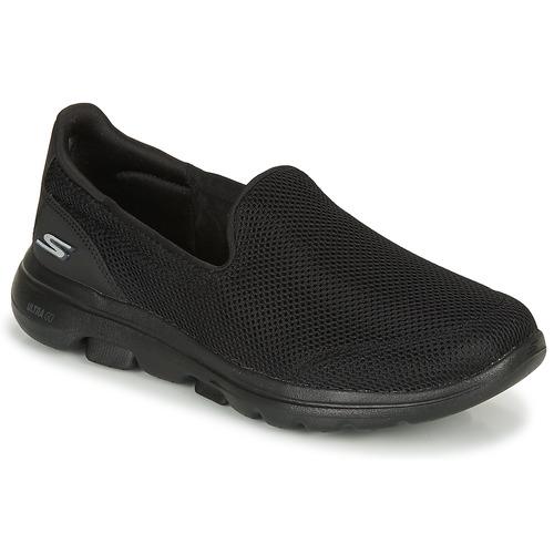 Shoes Women Slip-ons Skechers GO WALK 5  black