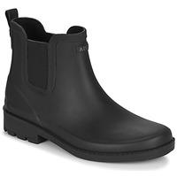 Shoes Women Wellington boots Aigle CARVILLE Black