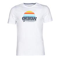 Clothing Men short-sleeved t-shirts Oxbow M1TEKSO White