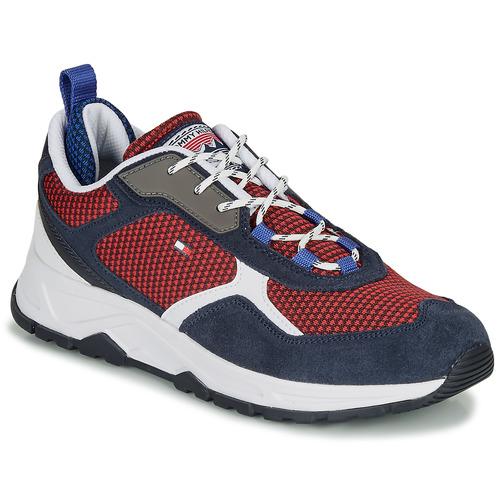Shoes Men Low top trainers Tommy Hilfiger FASHION MIX SNEAKER Blue