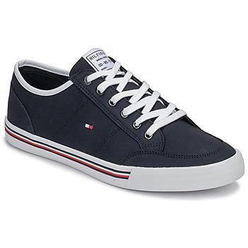 Shoes Men Low top trainers Tommy Hilfiger CORE CORPORATE TEXTILE SNEAKER Blue