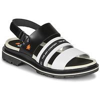 Shoes Women Sandals Art BIRMINGHAM Black / White