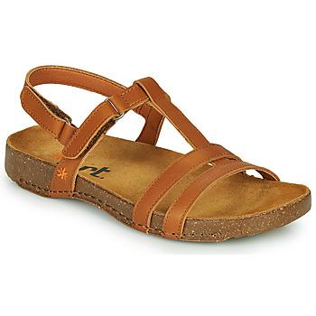 Shoes Women Sandals Art I BREATHE Brown
