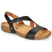 Shoes Women Sandals Art I BREATHE Black