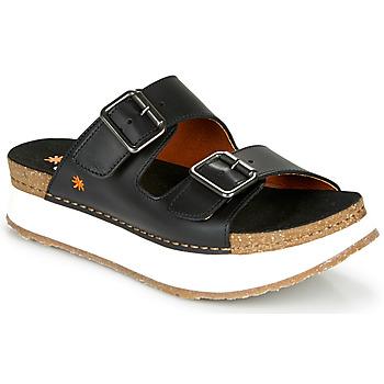 Shoes Women Mules Art MYKONOS Black