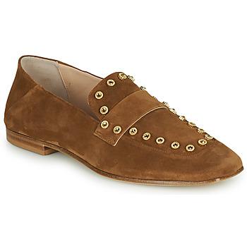 Shoes Women Loafers Fru.it LEVITA Brown