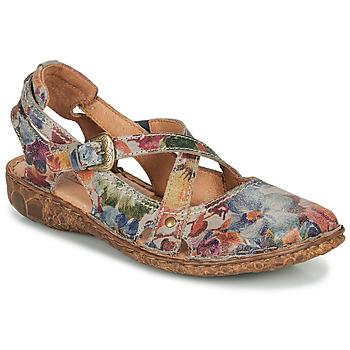 Shoes Women Sandals Josef Seibel ROSALIE 13 Grey / Multicoloured