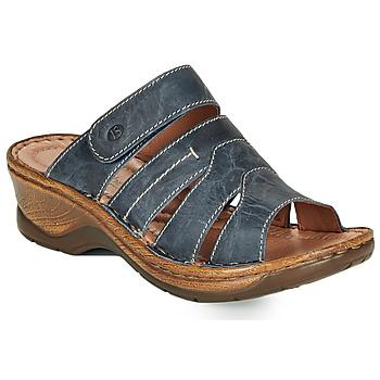 Shoes Women Mules Josef Seibel CATALONIA 49 Blue