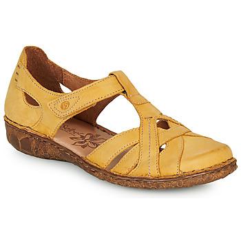 Shoes Women Sandals Josef Seibel ROSALIE 29 Yellow