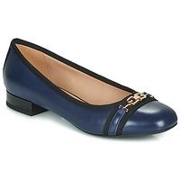 Shoes Women Flat shoes Geox D WISTREY Marine / Black