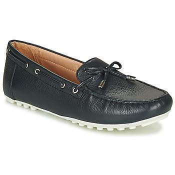Shoes Women Loafers Geox D LEELYAN Blue / Marine