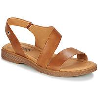 Shoes Women Sandals Pikolinos MORAIRA W4E Camel