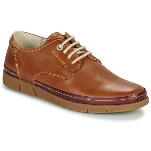Shoes Men Derby Shoes Pikolinos PALAMOS M0R Brown