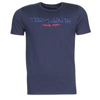 Clothing Men Short-sleeved t-shirts Teddy Smith TICLASS Marine