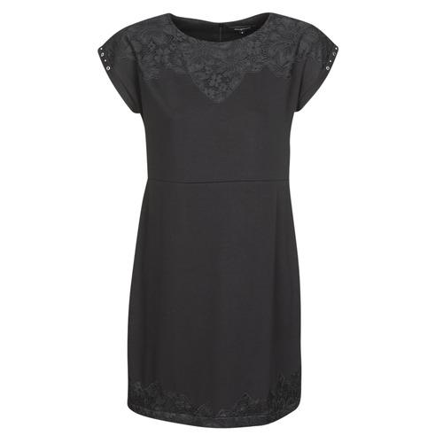 Clothing Women Short Dresses Desigual BANQUET Black