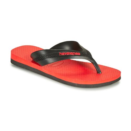 Shoes Children Flip flops Havaianas KIDS MAX  black / Red