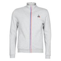 Clothing Men Track tops Le Coq Sportif ESS FZ Sweat N°2 M Grey / Mottled