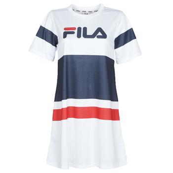 Clothing Women Short Dresses Fila Basanti White / Marine / Red