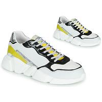 Shoes Women Low top trainers Serafini OREGON White / Black / Yellow