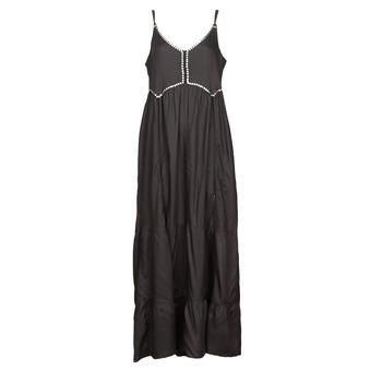 Clothing Women Long Dresses Kaporal ANGEL Black