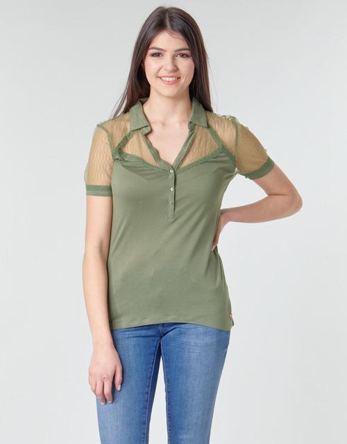 Clothing Women Tops / Blouses Kaporal BOSSA Kaki