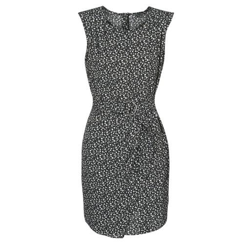 Clothing Women Short Dresses Ikks BQ30045-03 Black