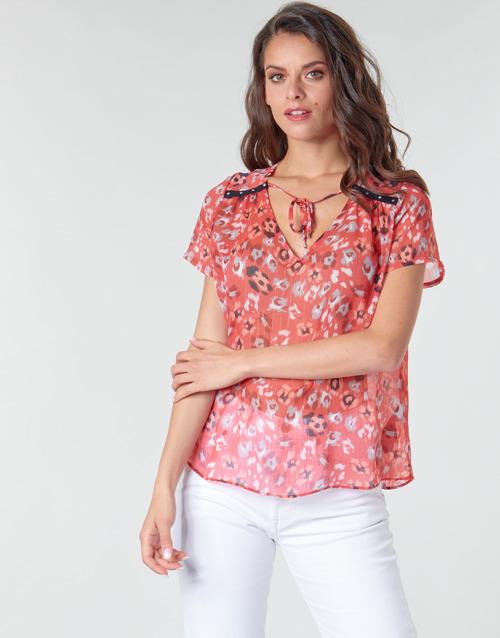 Clothing Women Tops / Blouses Ikks BQ11145-37 Orange