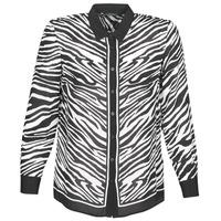 Clothing Women Shirts Ikks BQ12105-03 Black / White