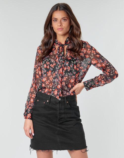 Clothing Women Tops / Blouses Ikks BQ13105-03 Multicolour