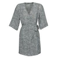Clothing Women Short Dresses Ikks BQ30415-03 Black / White