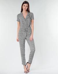 Clothing Women Jumpsuits / Dungarees Ikks BQ32045-03 Black / White