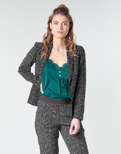 Clothing Women Jackets / Blazers One Step NELLY Black