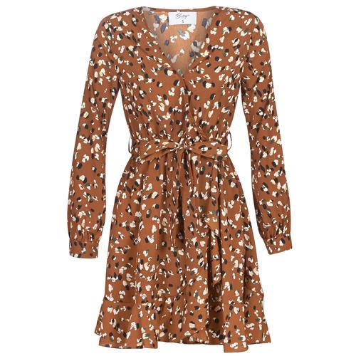 Clothing Women Short Dresses Betty London LISONS Brown