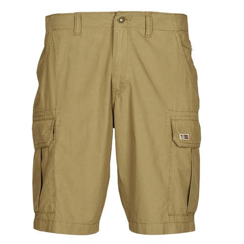 Clothing Men Shorts / Bermudas Napapijri NOTO 4 Camel